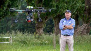 Massey-University-New-Zealand-Yule-Ian-with-drone